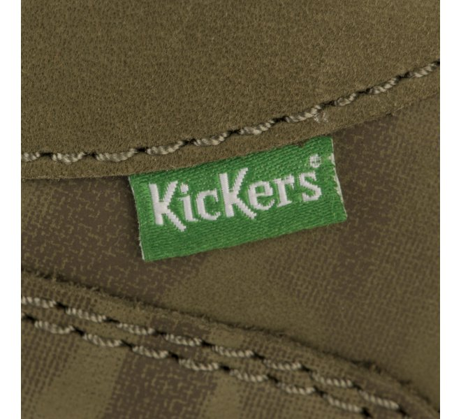 Bottines garçon - KICKERS - Kaki