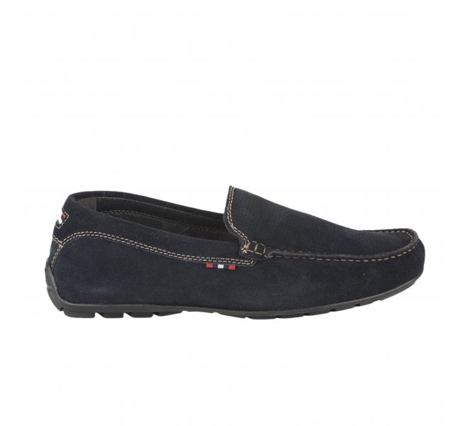 Mocassins homme - FIRST COLLECTIVE - Bleu marine