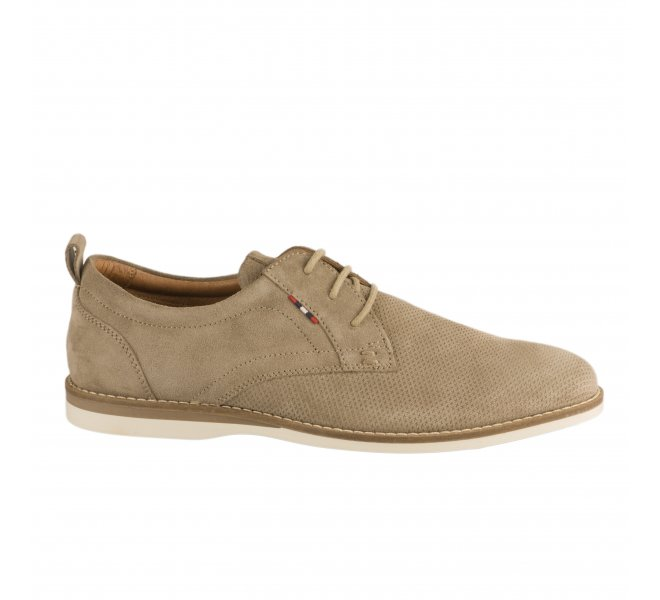Chaussures à lacets homme - FIRST COLLECTIVE - Beige
