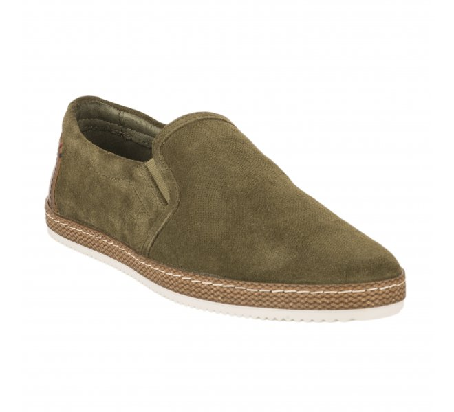 Espadrilles homme - FIRST COLLECTIVE - Kaki