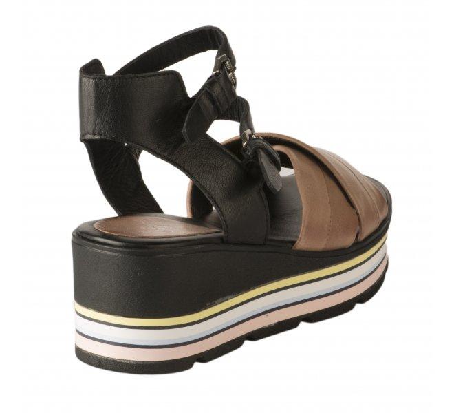 Nu pieds femme - MIGLIO - Bicolore