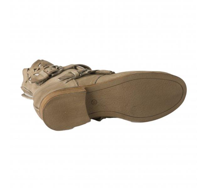 Boots femme - MIGLIO - Kaki