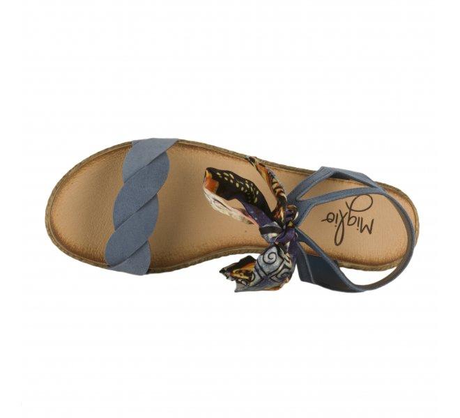Nu pieds femme - MIGLIO - Bleu