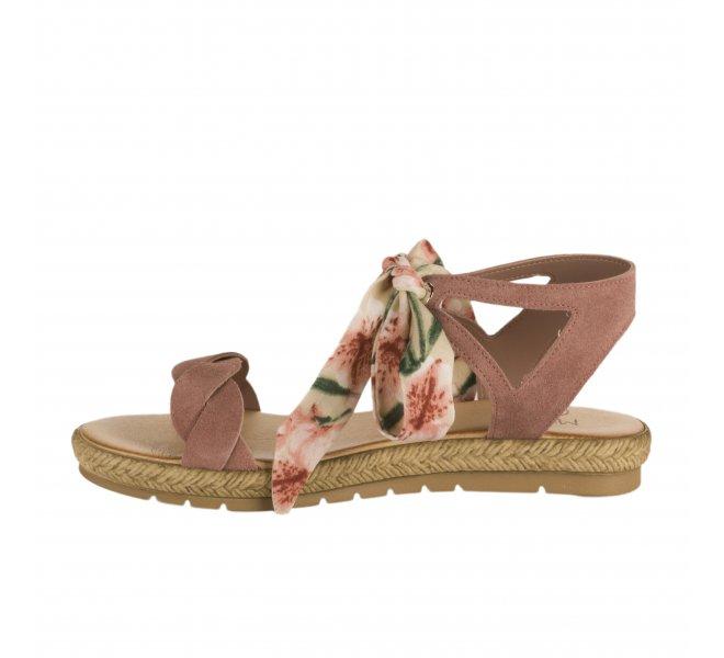 Nu pieds femme - MIGLIO - Rose