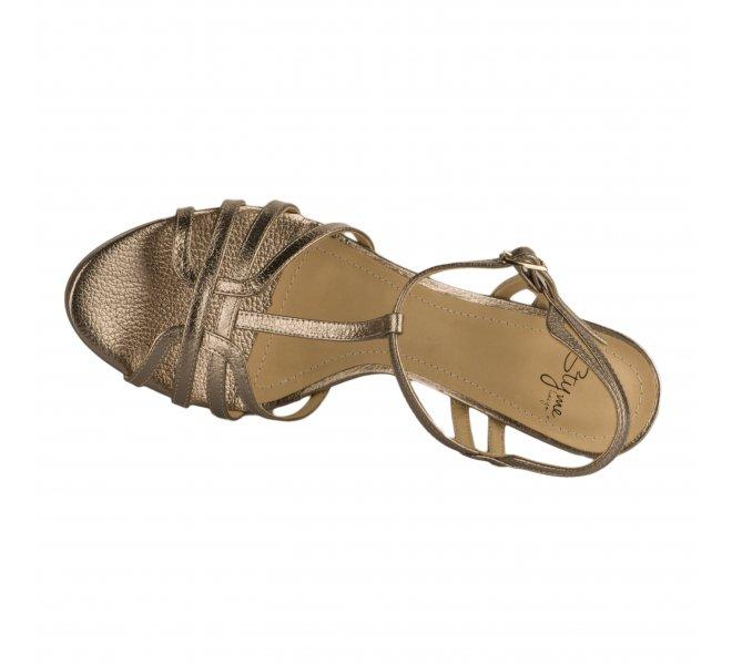 Nu pieds femme - STYME - Dore mordore