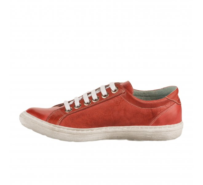 Baskets mode femme - CHACAL - Rouge