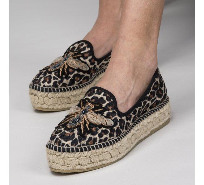 Espadrilles femme - GAIMO - Leopard