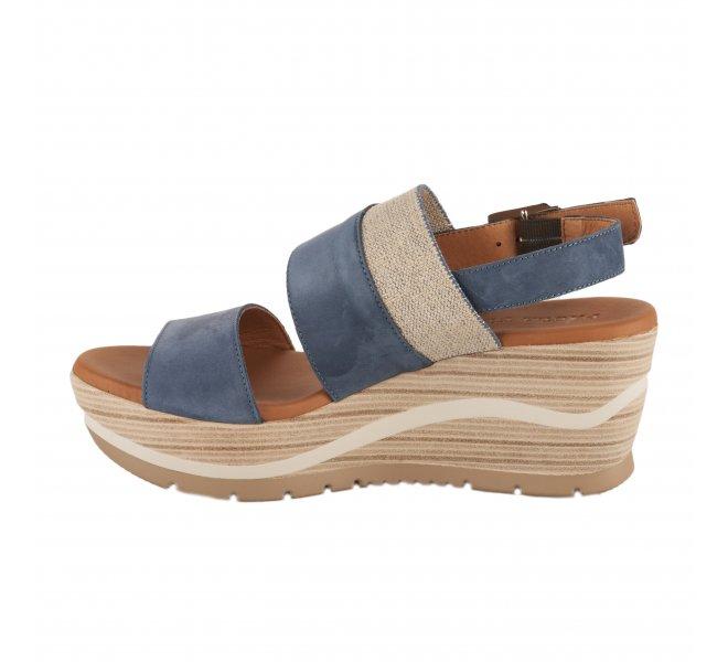 Nu pieds femme - PAULA URBAN - Bleu