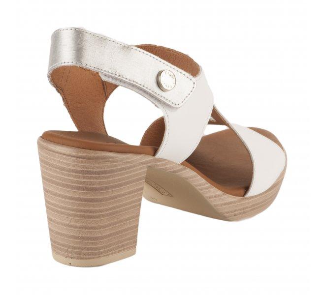 Nu pieds femme - PAULA URBAN - Blanc