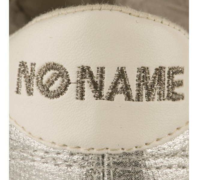 Baskets fille - NO NAME - Gris argent