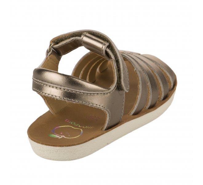 Nu-pieds fille - SHOO POM - Bronze