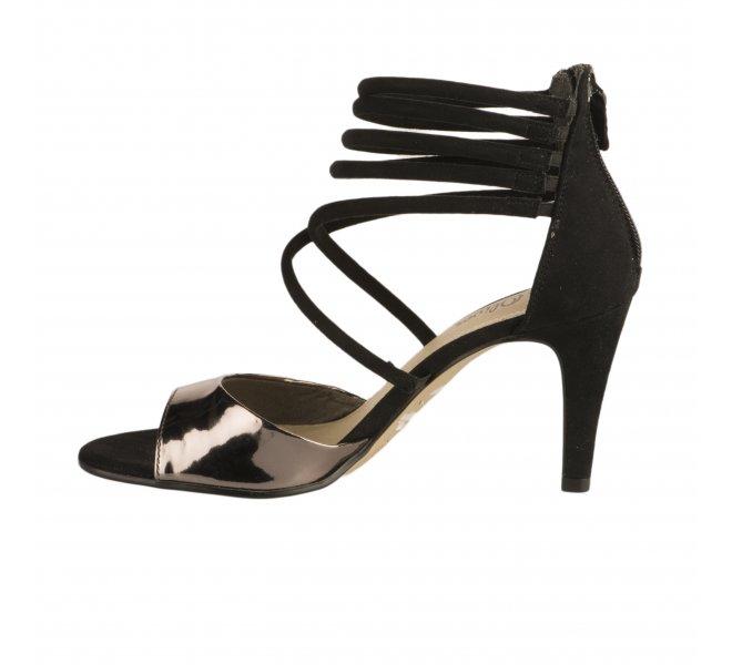 Nu pieds femme - S OLIVER - Noir