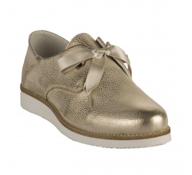 Chaussures à lacets femme - MIGLIO - Dore