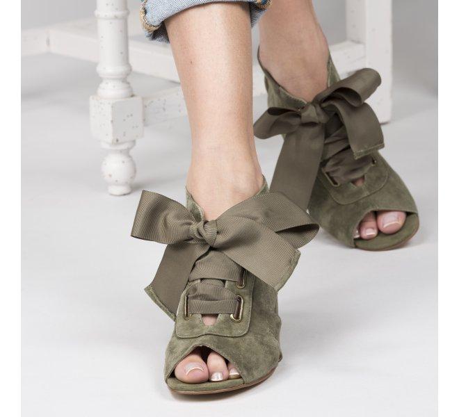 Nu pieds femme - EMILIE KARSTON - Kaki