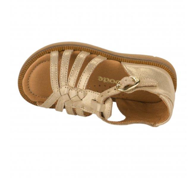 Nu-pieds fille - BABYBOTTE - Beige dore