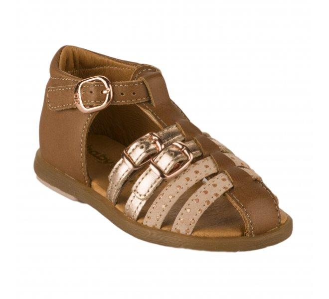 Nu-pieds fille - BABYBOTTE - Camel