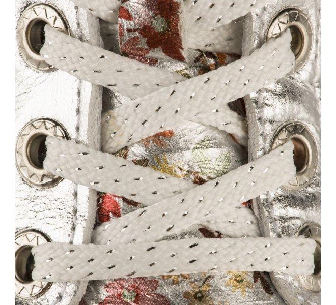 Baskets fille - BELLAMY - Gris argent