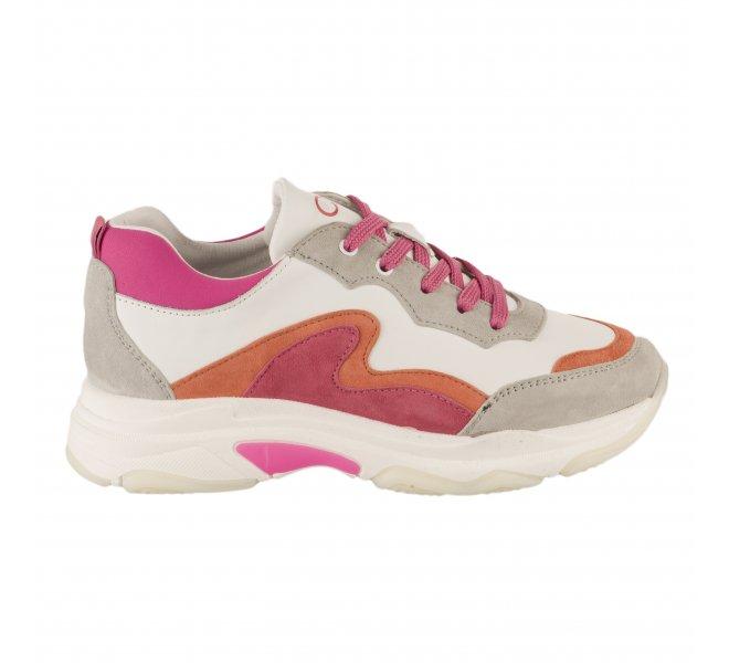 Baskets fille - CKS - Rose fushia