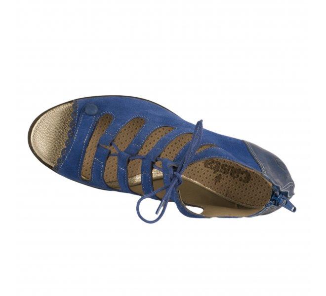Nu pieds femme - CASTA - Bleu
