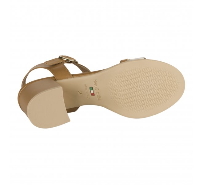 Nu pieds femme - NEROGIARDINI - Blanc