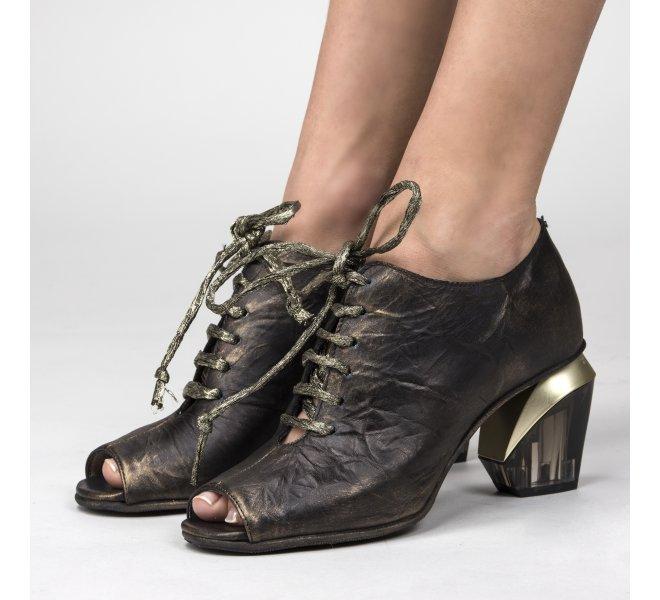 Nu pieds femme - PAPUCEI - Noir