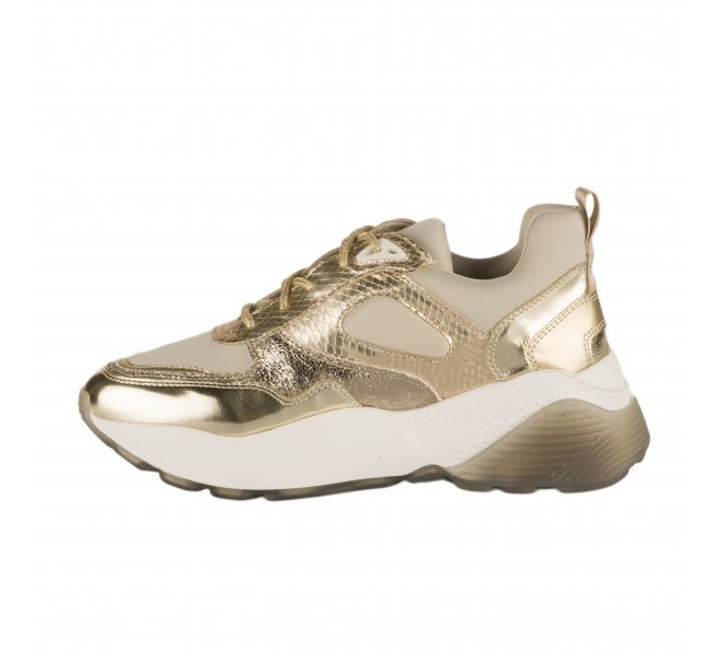 Baskets mode femme - STUDIO ITALIA - Dore