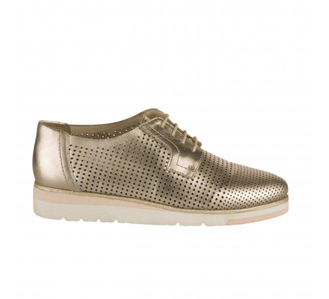 Chaussures à lacets femme - MIGLIO - Dore mordore