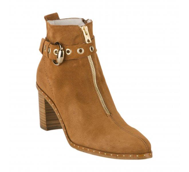 Boots femme - PHILIPPE MORVAN - Naturel