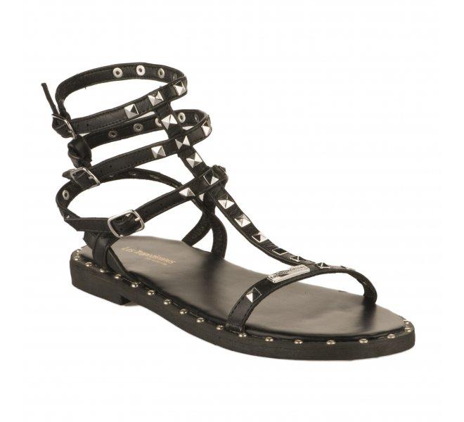 Nu pieds femme - LES TROPEZIENNES - Noir