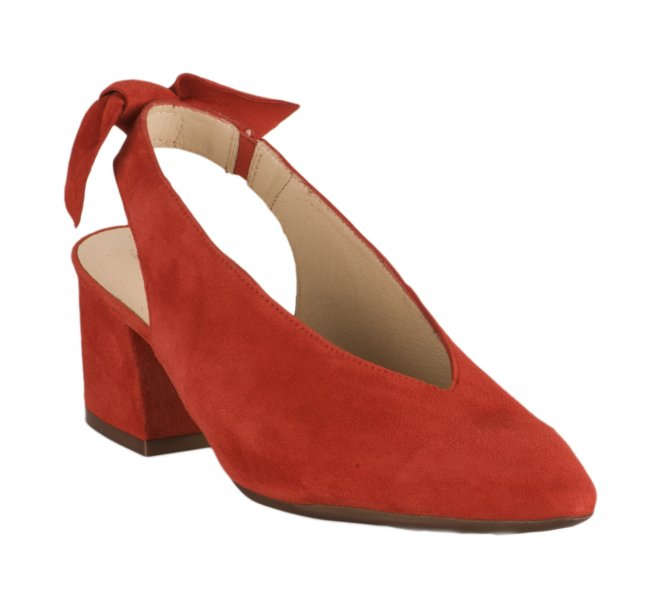 Escarpins femme - WONDERS - Rouge
