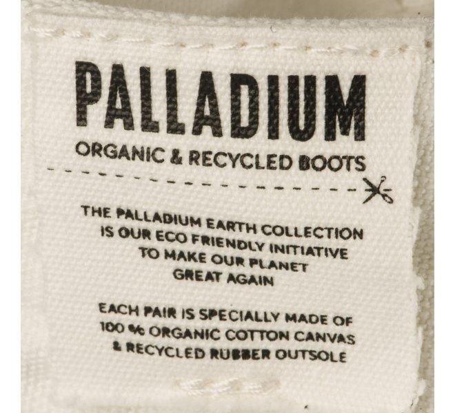 Baskets fille - PALLADIUM - Blanc