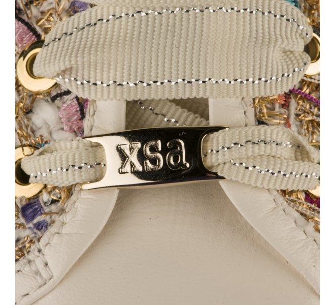 Baskets mode femme - XSA - Ecru