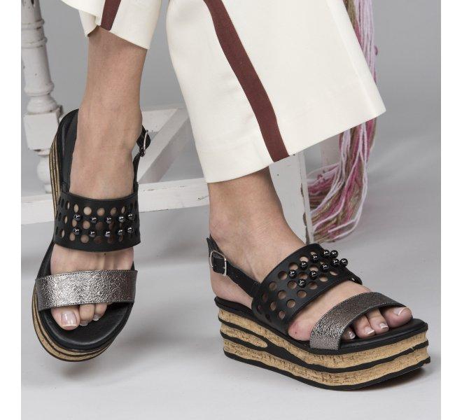 Nu pieds femme - REPO - Noir
