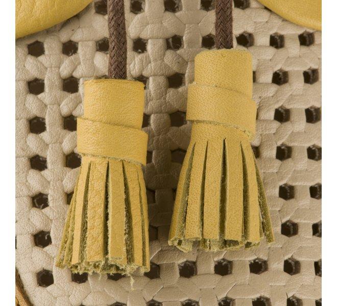 Chaussures à lacets femme - PIKOLINOS - Jaune