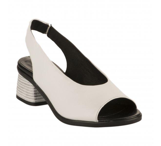 Nu pieds femme - MIGLIO - Blanc