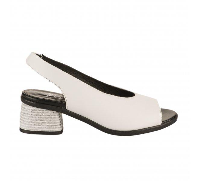 sur des pieds à meilleur site grandes marques Nu pieds femme - MIGLIO - Blanc