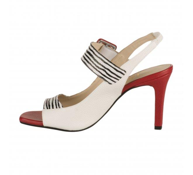 Nu pieds femme - LODI - Blanc