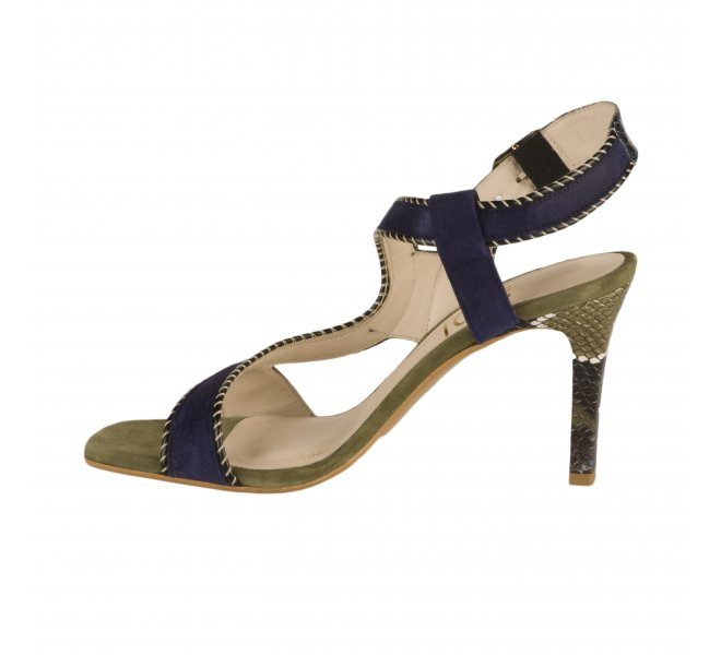 Nu pieds femme - LODI - Bleu