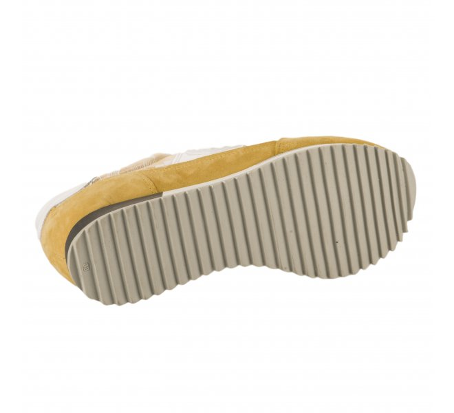 Baskets mode femme - PHILIPPE MORVAN - Jaune