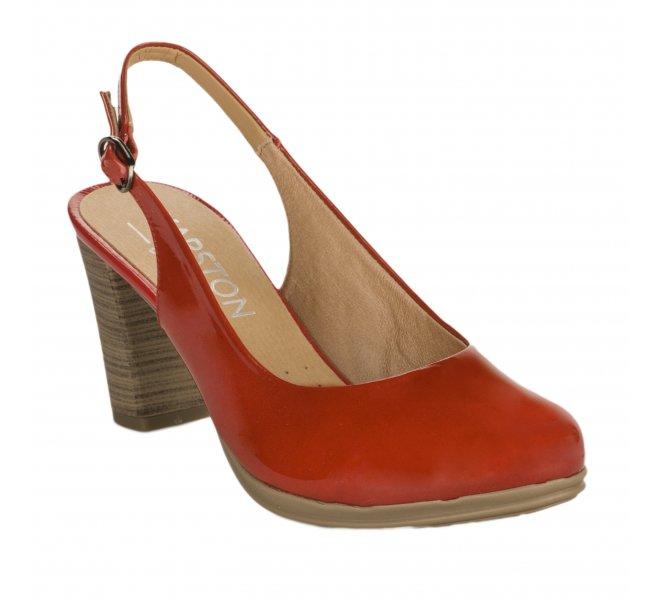 Escarpins femme - KARSTON - Rouge vernis