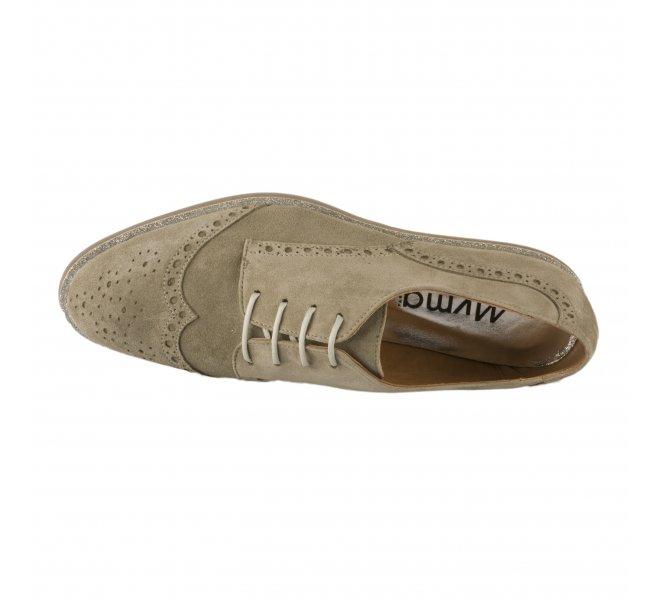 Chaussures à lacets femme - MYMA - Kaki