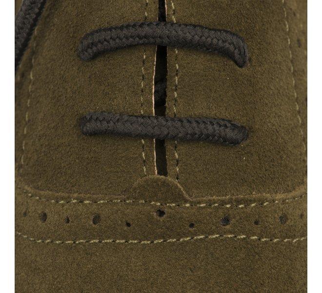 Chaussures à lacets femme - KARSTON WEB - Kaki