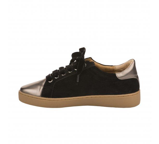 Baskets mode femme - KARSTON WEB - Noir