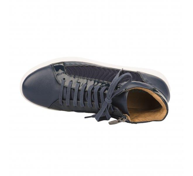 Baskets mode femme - KARSTON WEB - Bleu marine