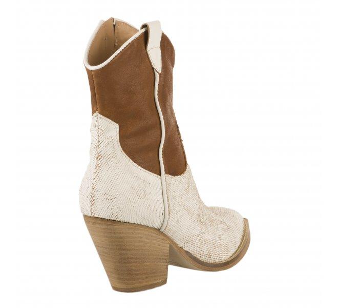 Boots femme - MIGLIO - Blanc