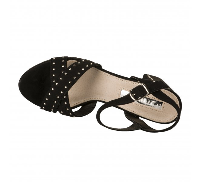 Nu pieds femme - XTI - Noir