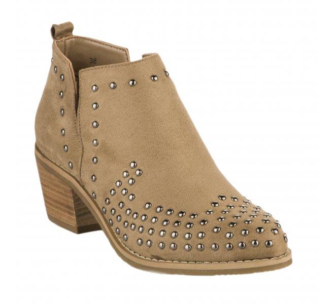 Boots femme - XTI - Camel