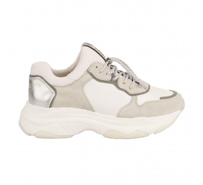 Baskets mode femme - BRONX - Blanc