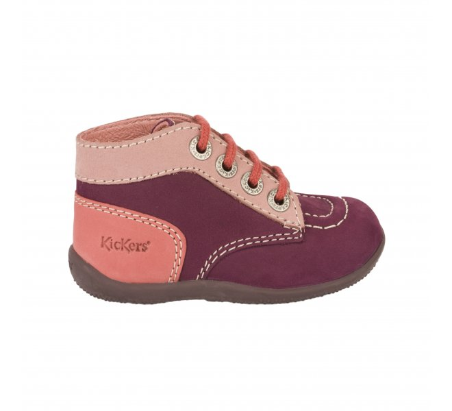 Bottines fille - KICKERS - Violet