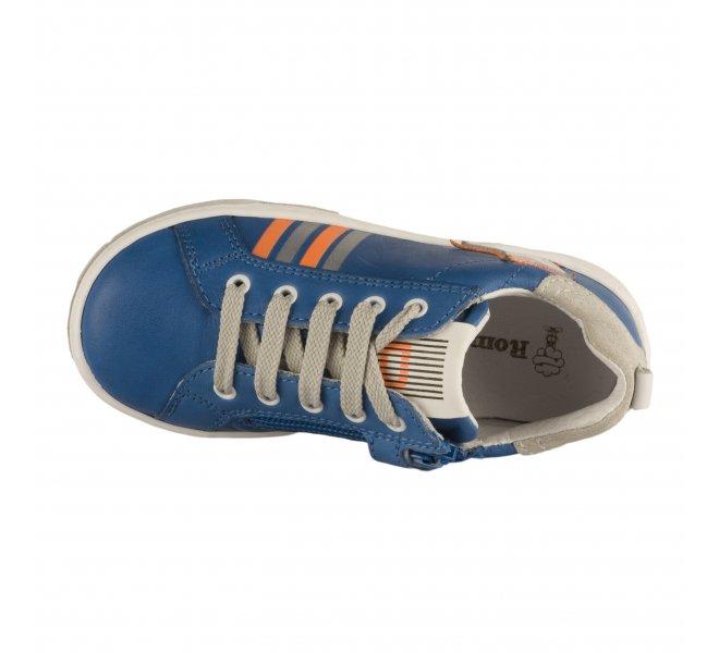 Baskets garçon - ROMAGNOLI - Bleu